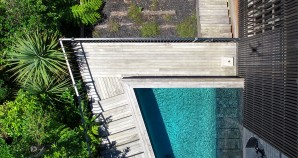 pool and sundeck aerial