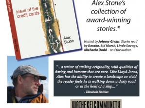 Book Launch! Alex Stone: Jesus of the Credit Cards