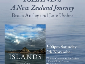 Book Launch - Islands: Bruce Ansley & Jane Ussher