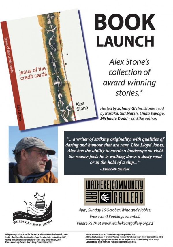 Book Launch flyer as jpeg
